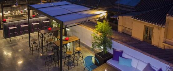 estilo moderno estilo mediterráneo Diseño de exteriores decoración locales comerciales decoración en blanco decoración de restaurantes decoración de hoteles decoración de cafeterías bares