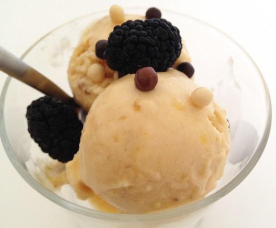 recetas delikatissen postres rápidos postres fáciles postres con fruta helados fruta helados fáciles helados caseros helado platano mango