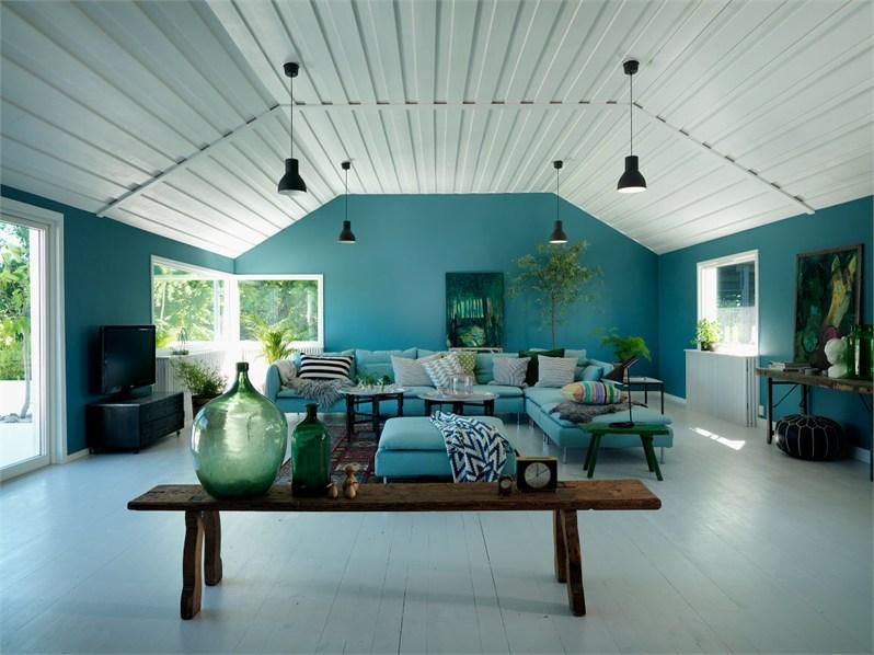 Colores fuertes para una casa n rdica blog decoraci n estilo n rdico delikatissen - Blog de decoracion de casas ...