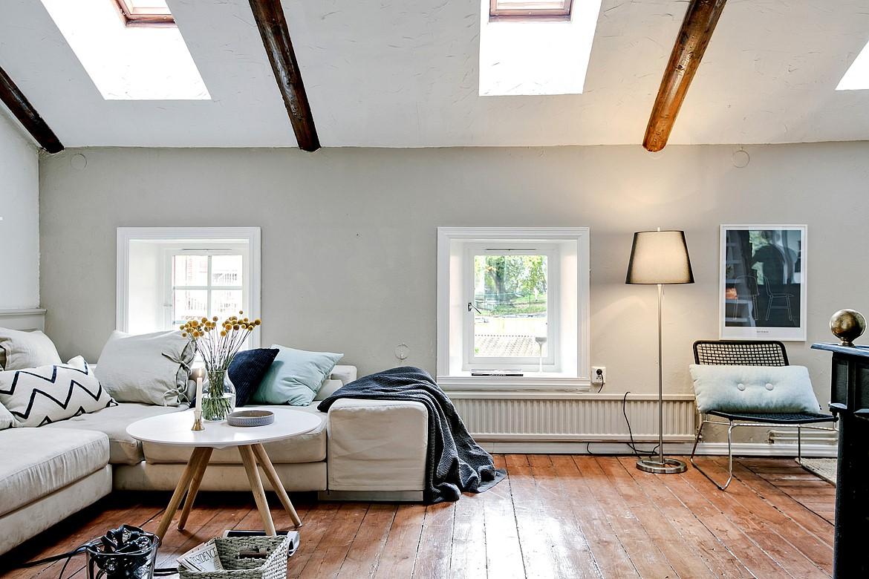 Ladrillo visto vigas de madera y panelados blog - Panelados para paredes ...