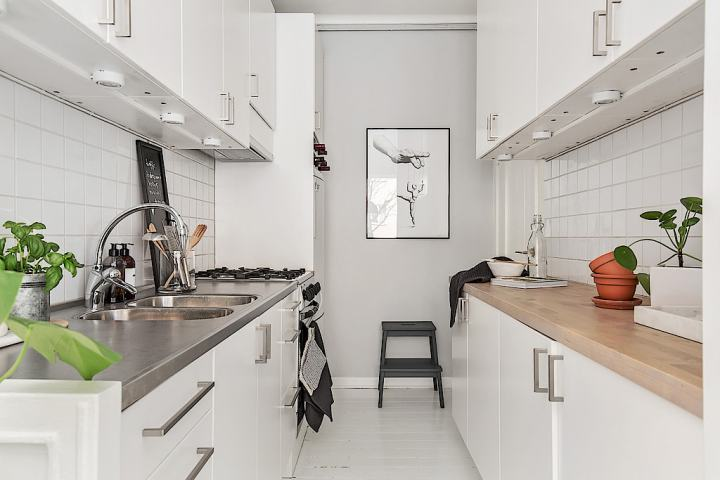 La distribución de un hogar es cuestión de prioridades interiores espacios pequeños estilo nórdico escandinavo decoración mini pisos decoración femenina decoración estudio cocina nordica pequeña blog decoración nórdica