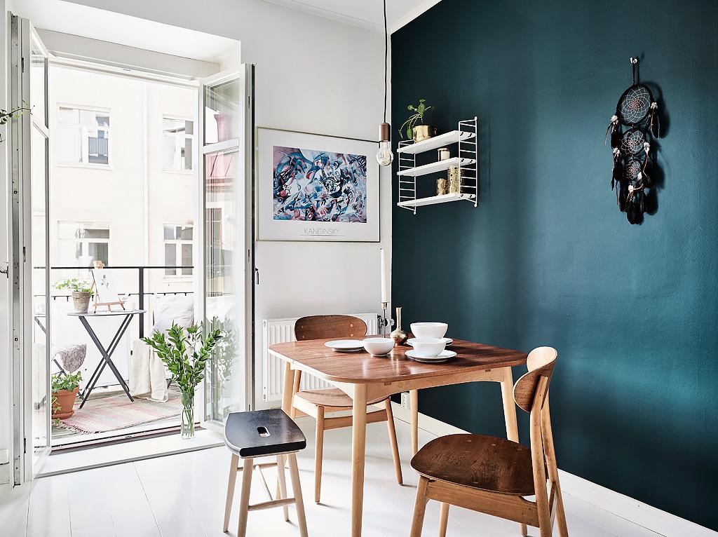 Azul petroleo en la cocina blog decoraci n estilo for Articulos para decoracion de interiores