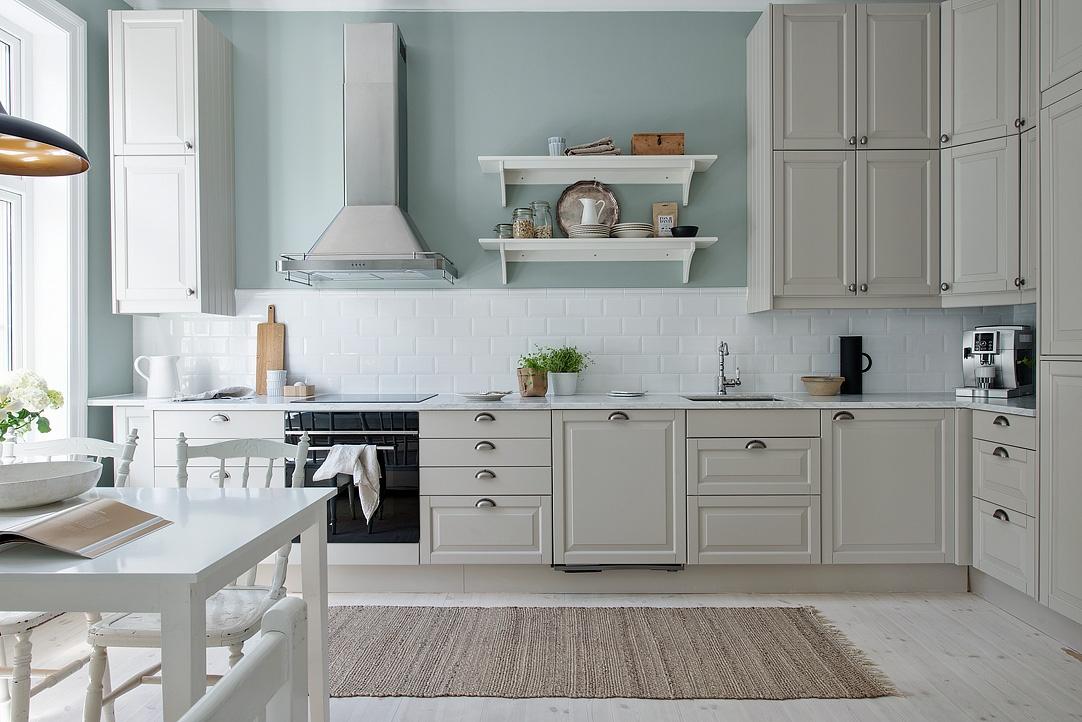 Cocina serena de aire country blog decoraci n estilo - Blog de cocina ...