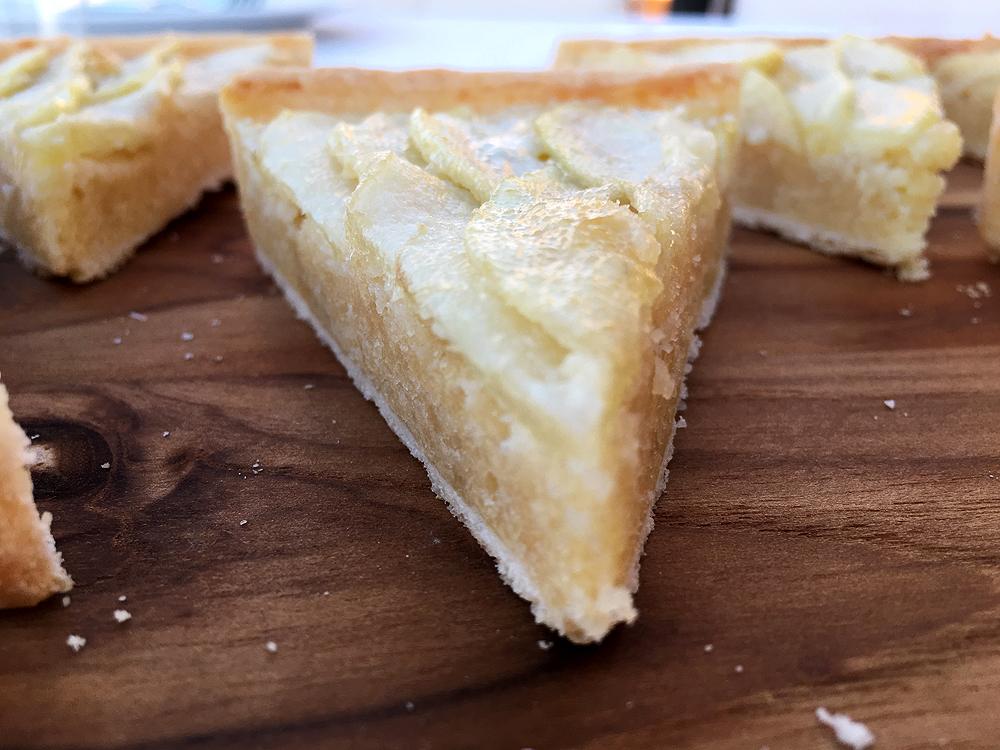 postres fáciles, postres rápidos, recetas postres delikatissen, tarta de pera, tarta masa brisa, tartas fáciles y rápidas, tartas frutas