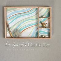 Handpainted Marble Wall Box