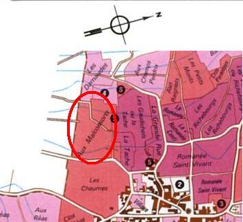 マルコンソールの畑地図