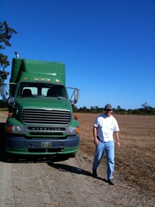  Mississippi Farmer Lil John McKee on his farm near Friars Point, MS