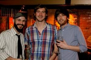 Artists Greg Birdsong, Joey Young, Austin Britt. Photo by DB