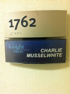 Charlie Musselwhite's Dressing Room - The Tonight Show