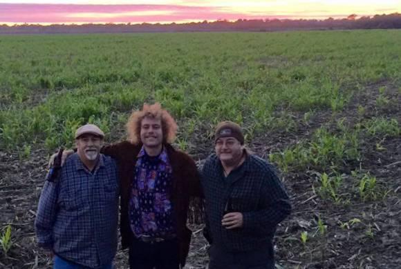 A trio of Castaways ` Deak Harp, Lou Haze, Poor William in the Mississippi Delta.