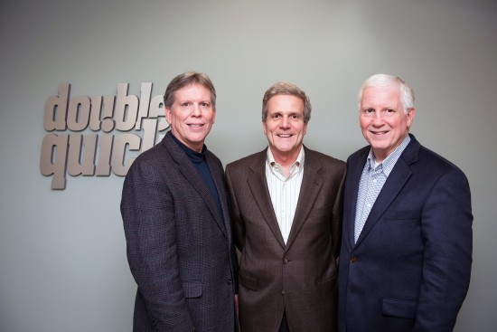 Principals of Gresham Petroleum and Double Quick (left to right), Bill McPherson, Tom Gresham and Walton Gresham, recently supported Delta State University and the Delta State University with record-breaking scholarships to the Delta State University College of Business.