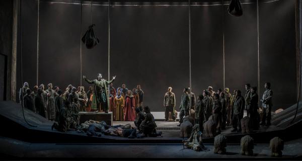 """""""Attila"""" di Giuseppe Verdi, andato in scena al Teatro Comunale di Bologna"""