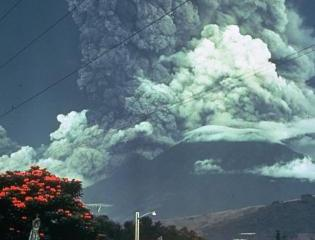1974 Eruption of Fuego