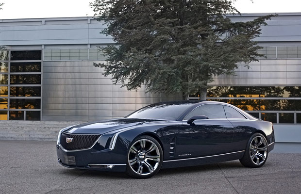 Cadillac's Elmiraj Coupe Concept side profile