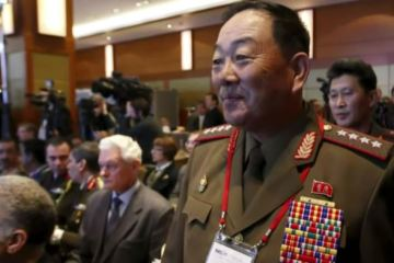 former dprk defence chief hyon yong-chol