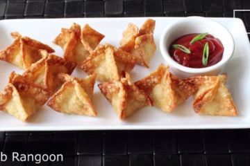 Crab Rangoon from Food Wishes dot com
