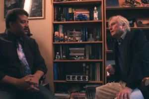 Neil deGrasse Tyson and Richard Dawkins