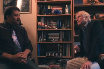 Neil deGrasse Tyson and Richard Dawkins
