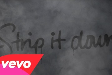 Luke Bryan - Strip It Down lyrics video