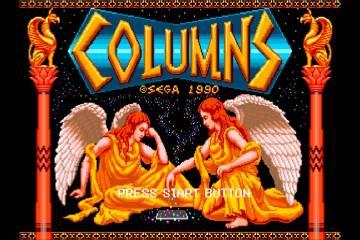 Mega Drive - Columns