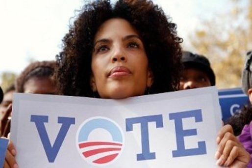 Voter turnout in record numbers surpassed 2008 among African-American voters nationwide
