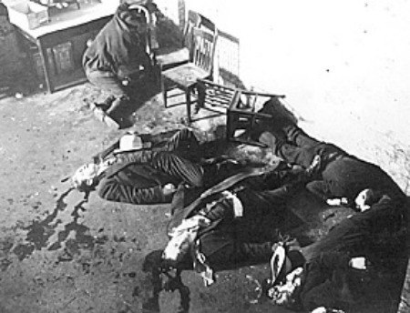 st valentines day massacre photo of crime scene Marijuana Laws and Prohibition