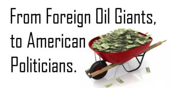Election Donations From Foreign Oil Compainies