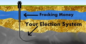 big energy lobbying Fracking Corruption Money Politics