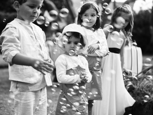 comment occuper les enfants lors d'un mariage