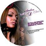 Amber D Promo DJ Mix - CD Printing Duplication