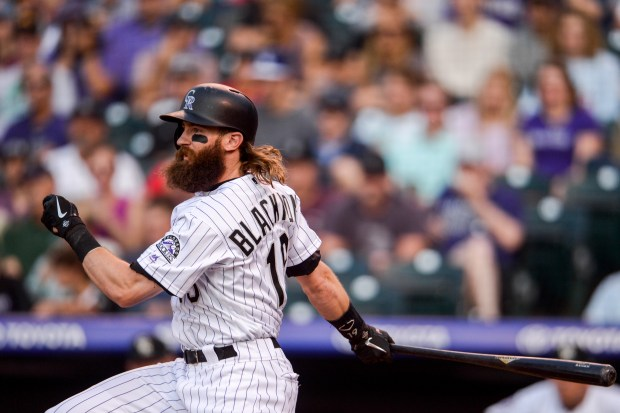 Charlie Blackmon #19 of the Colorado ...