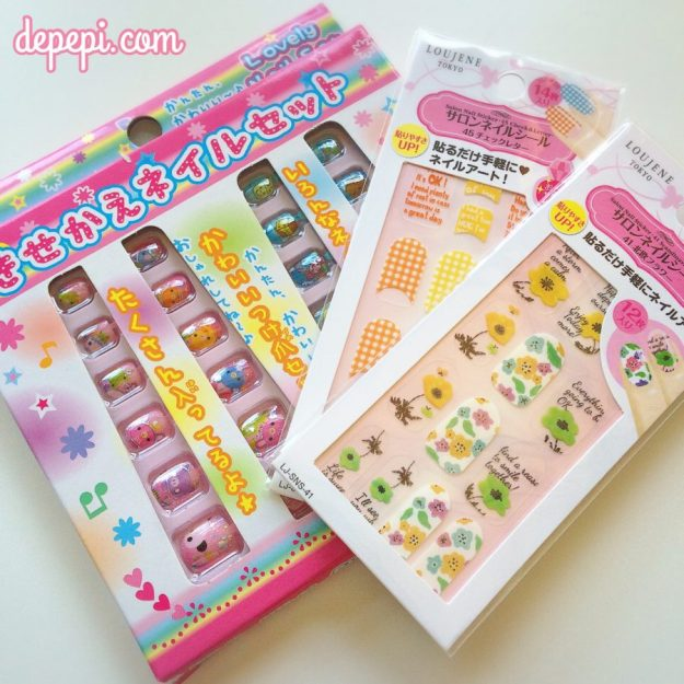 giveaway, scratchy giveaway, japanese, made in japan, japan nails, japanese nails, depepi, depepi.com, fashion