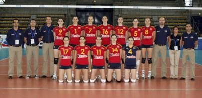 ESPAÑA,Premundial femenino - Serbia 2009  España