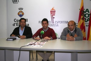 Julio González, Rafael Triguero y Toni Roig,