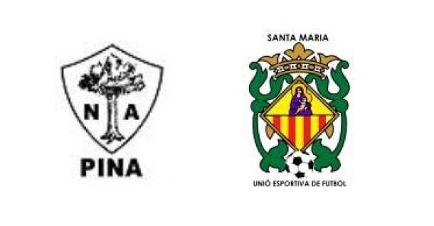 Pina 2-9 Unió Esportiva Santa Maria