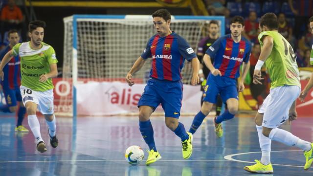 F.C. Barcelona Lassa y el Palma Futsal -Fotos Victor Salgado
