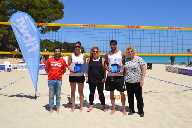 Pere Terrassa, Paula Soria, Mónica Viejo, Christian García i Carmen Corraliza