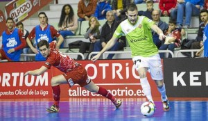 Paradynski ante ElPozo ante el que marcó el mejor gol de la temporada