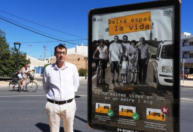 presentació campanya Deixa Espai a la Vida