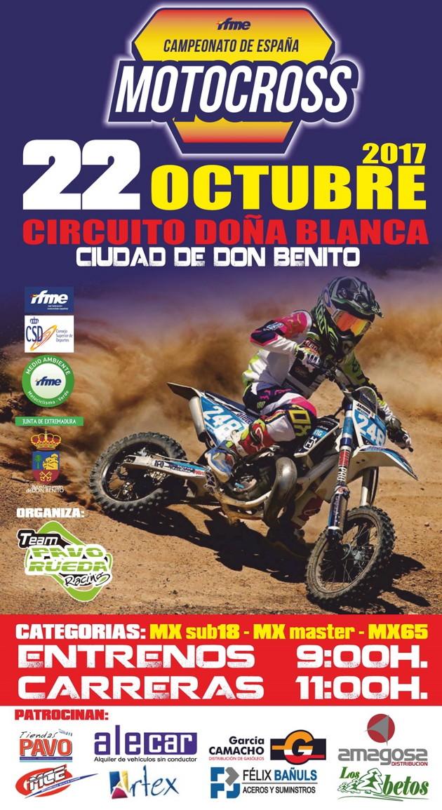 Cartel RFME MXDonBenito 2017