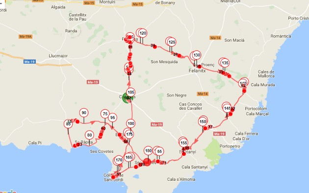 Plano Trofeo Campos-Ses salines