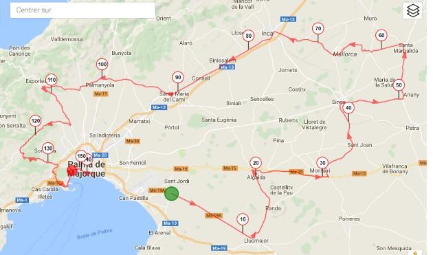 Plano Trofeo Playa Palma-Palma
