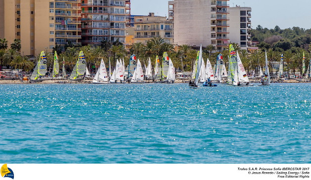 From 24th March to 1st April the bay of Palma host the 48th edition of the Trofeo Princesa Sofia IBEROSTAR, one of the most important Olympic Classes regatta in the world. Around a 800 sailors from 45 nations will meet in Mallorca to start the Olympic path towards Tokyo 2020, in one of the most international sports event and with a higher participation in Spain. Image free of editorial rights. @Jesús Renedo / Sailing Energy / Trofeo Sofia Los grandes equipos europeos preparan sus temporadas en Mallorca