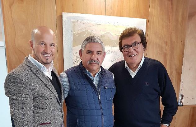 Pedro del Barco, Esteban García y Miquel Bestard