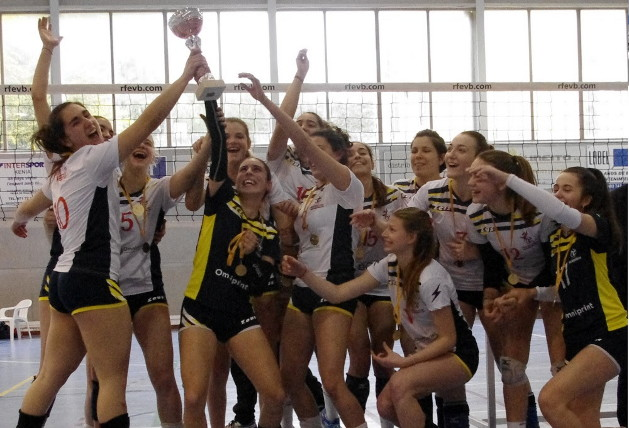 Omniprint Ciutat Cide campeón de Baleares juvenil femenino