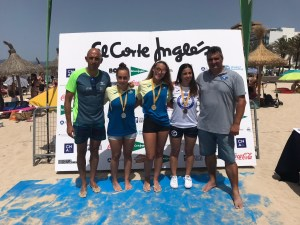 Campeonas Baleares Open general absoluta 3000