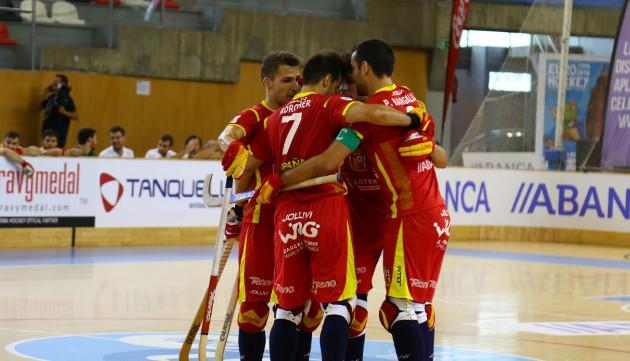 España en el Europeo de hockey patines