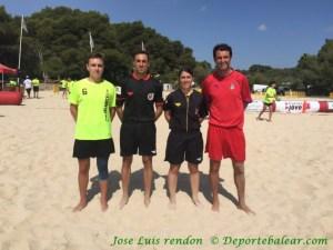 Futbol Playa 1 Partido