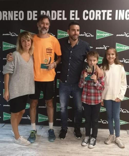 Biel Suau y Santi Martorell ganadores de la 1ª categoría masculina del II Torneo Pádel El Corte Inglés.