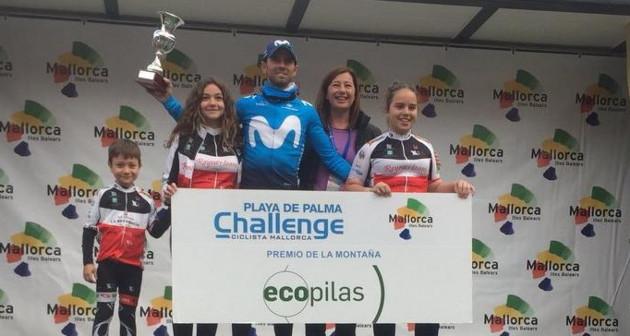 Alejandro Valverde, tercero en la segunda etapa de Mallorca - 2017